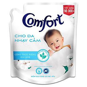Nước Xả Vải Comfort Cho Da Nhạy Cảm Túi 2.6L - Phù Hợp Với Cả Em Bé (Giao mẫu ngẫu nhiên)