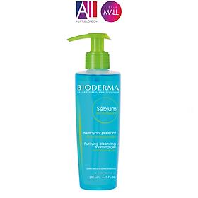 Gel rửa mặt cho da hỗn hợp và da dầu Bioderma Sebium Gel Moussant (Nhập khẩu)