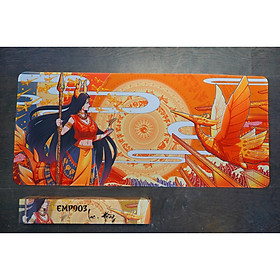 Bàn di chuột E-Dra EMP903 Lạc hồng (900 x 400 x 5mm) - Hàng Chính Hãng