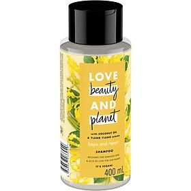 Dầu Gội Phục Hồi Hư Tổn Love Beauty And Planet Hope And Repair 400ml