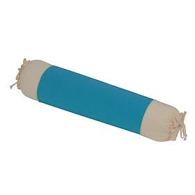 Gối ôm 30x90 cm cotton xốp màu Hometex - Màu xanh đậm