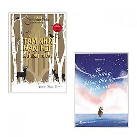 Combo 2 cuốn Tầm Nhìn Hạn Hẹp Bắt Chẹt Tư Duy+Khi Tài Năng Không Theo Kịp Giấc Mơ( Tặng kèm bookmark Happy Life)