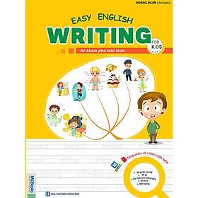 Sách - Easy English Writing For Kids - Bé Khám Phá Bản Thân
