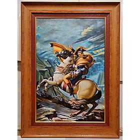 Tranh vẽ sơn dầu -Napoleon Bonaparte