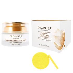 Kem Chống Lão Hóa Ban Ngày Organique Precious Age-Reverse Day Cream (50ml) - Tặng Kèm Mút Rửa Mặt