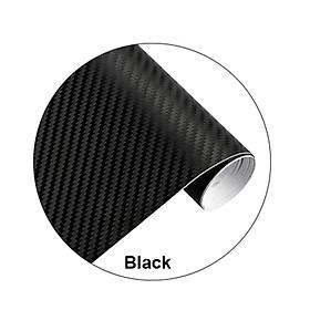 Car Decal Car Sticker Black Carbon Fiber DIY Wrap Paper