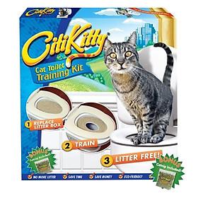 Bộ Huấn Luyện Mèo Đi Vệ Sinh Citikitty Kún Miu
