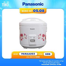 Nồi cơm điện nắp gài Panasonic PANC-SR-MVN187HRA 1.8L - Lòng nồi chống dính - Gồm 3 chế độ nấu - Hàng Chính Hãng