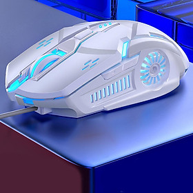 Gaming Mouse Wired,with 6D Programmable Buttons, RGB Lights Perfect for Gaming Computer Mouse for PC, Laptop, Computers