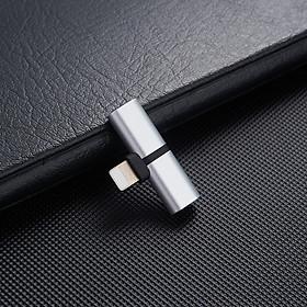 Bộ chuyển đầu sạc Lightning 2in1 cho iphone  V2 - Hàng nhập khẩu