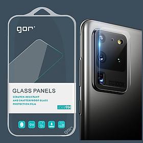 Dán cường lực GOR cho Camera Samsung Galaxy S20 Plus / S20 Ultra (Bộ 2 Miếng) - Hàng Nhập Khẩu