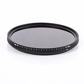 Bộ Lọc Máy Ảnh Fotga Có Thể Điều Chỉnh ND ND2 ND400 Cho Canon Nikon 18-85 (72cm)