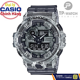 Đồng hồ nam Casio G-Shock GA-700SK-1ADR Skeleton | GA-700SK-1A G-Shock trong suốt