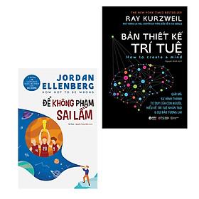 Combo Bill Gates's Books: Để Không Phạm Sai Lầm + Bản Thiết Kế Trí Tuệ