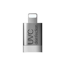 Horicreate Mini Portable 5S Instant UVC Sterilization Mobile Phone Sterilizer Disinfection Machine for Android Type-C Interface-Silver