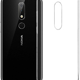 Bộ 2 ốp lưng silicon cho Nokia 3.1 Plus (trong suốt)