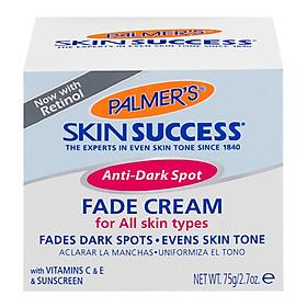 Kem Dưỡng Trắng Sáng Da Ban Ngày, Mờ Thâm Nám – Tàn Nhang Palmer'S Skin Successanti Dark Spot Fade Cream For All Skin Types (75g)