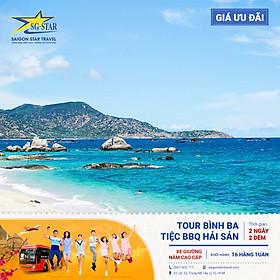 Tour Sài Gòn Đi CAM RANH - ĐẢO BÌNH BA + Lặn Ngắm San Hô - Ăn Tôm Hùm - Tiệc BBQ