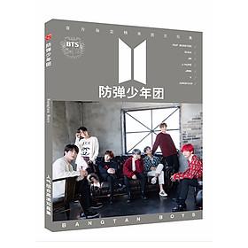 Photobook BTS New  bìa xám thiết kế độc đáo sáng tạo