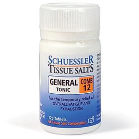 Martin & Pleasance Tissue Salts Comb 12 General Tonic 125 Tablets