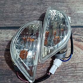 Bộ xi nhan sau kèm bóng đèn dành cho xe Vespa LX - TA1345