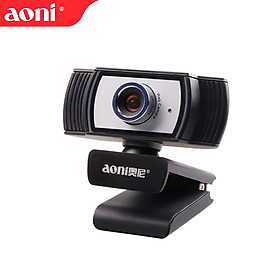 Aoni C33 Webcam Beauty Camera 1080p 1920*1080P Anchor Live Computer Cam USB Plug-in Camera Video Chat Call Clip-on Web