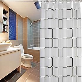 Rèm Nhà Tắm Mercure Kèm Thanh Treo (90-160cm)