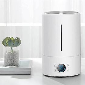 Máy tạo độ ẩm không khí diệt khuẩn, công suất lớn 300ml/h, màn hình điện tử hiển thị chỉ số độ ẩm trong phòng