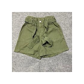 Short jean nữ lưng cao