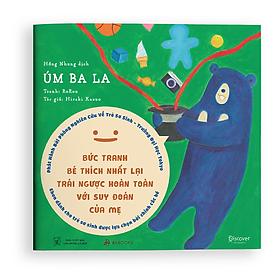 Sách Ehon Moi Moi Úm Ba La - Dành cho trẻ từ 0-2 tuổi - Giúp các em bé ngừng khóc - Ehon Nhật Bản cho trẻ sơ sinh