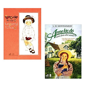 Combo Sách Văn Học Cực Hay:  TotoChan Cô bé bên cửa sổ+Anne Tóc Đỏ Dưới Chái Nhà Xanh( Tăng kèm Bookmark Green Life)