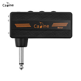 Caline CA-101 Guitar Headphone Amp Mini Plug Amplifier Rechargeable with Distortion Effect for Electric Guitar