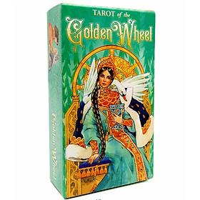 Bộ Bài Tarot Tarot of the Golden Wheel New Đẹp