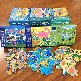 Bộ ghép hình Puzzle 4 cấp độ (giao ngẫu nhiên)