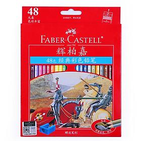 Hộp Bút Chì Màu Dầu Faber-Castell Cổ Điển (48 Màu) (Hộp Sắt)