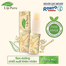 Son Dưỡng Chiết Xuất Thiên Nhiên Lipice Lip Pure Không Mùi (4g)-4