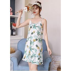 Váy ngủ, đầm mặc nhà  2 dây đuôi cá ARCTIC HUNTER 06