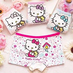 Quần Chip Hello Kitty Xinh Xắn Cho Bé Gái 8-18kg