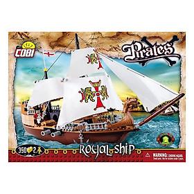 Đồ Chơi Lắp Ráp Tàu Hoàng Gia COBI - 6018