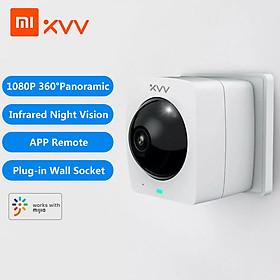 Camera Toàn Cảnh Thông Minh Xiaomi Xiaovv Xvv-1120S-A1 Camera Ngoài Trời 360 ° 1080P Hd Ip Tầm Nhìn Ban Đêm Hồng Ngoại Độ Nét Cao (China Version)
