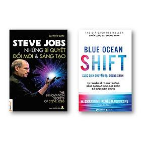 Combo Sách: Steve Jobs - Những Bí Quyết Đổi Mới Và Sáng Tạo + Blue Ocean Shift - Cuộc Dịch Chuyển Đại Dương Xanh