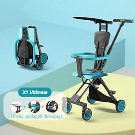 Xe đẩy em bé hai chiều , nhẹ và di động , gấp nhỏ rất tiện