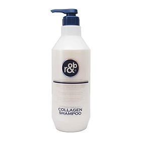 Dầu gội Collagen giảm rụng tóc giảm mùi hôi phục hồi tóc kích thích mọc tóc R&B Collagen Shampoo, Hàn Quốc 450ml