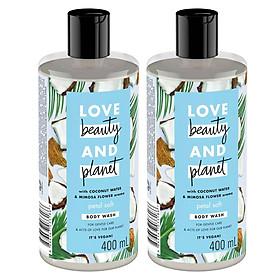 Sữa tắm dưỡng dịu nhẹ Love Beauty And Planet 400m
