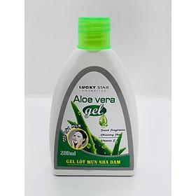 Gel Lột Mụn Nha đam Aloe Vera Lucky Star 200ML