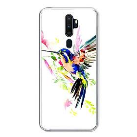Ốp lưng điện thoại Oppo A9 2020 - Silicon dẻo - 0059 BIRD02 - Hàng Chính Hãng