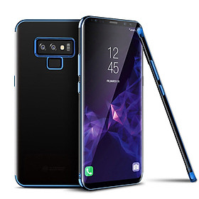 For Samsung Galaxy Note 9 Shockproof Plating Hybrid Clear Slim Bumper Case Cover