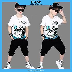 Set Đồ Bé Trai phong cách hàn quốc, thời trang trẻ em thương hiệu BAW mã 70