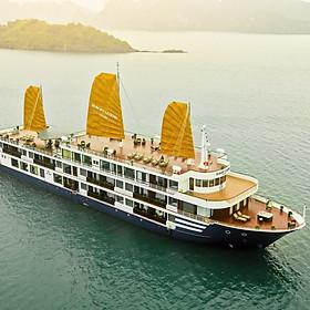 Sealife Legend Cruises 5* - 3N2Đ Khám Phá Vịnh Hạ Long, Vịnh Lan Hạ, Đảo Cát Bà Với Phòng Nghỉ 5 Sao