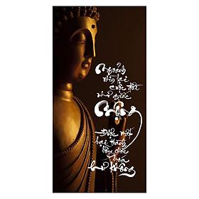 Tranh Thư Pháp Chữ Mộng 2554 (30 x 60 cm)